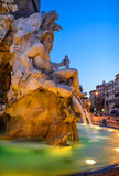 Piazza Navona, Rome, Italy stock images