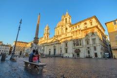 Piazza Navona, Rome, Italy Royalty Free Stock Photos