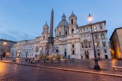 Piazza Navona, Rome. Italy Stock Photography