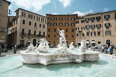 Piazza Navona, Rome. Italy Stock Photo