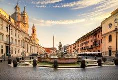 Piazza Navona, Rome Stock Photos