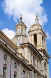 Piazza Navona Rzym Obrazy Royalty Free