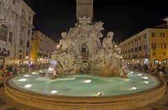Piazza Navona, Rzym Obraz Royalty Free