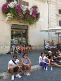 piazza navona Rzymu Obraz Royalty Free