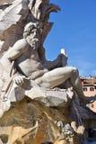 piazza navona Rzymu Fotografia Royalty Free