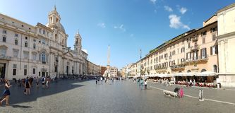 Piazza Navona, town square, city, town, sky. Piazza Navona is town square, sky and public space. That marvel has city, plaza and urban area and that beauty royalty free stock photos