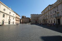 Piazza Navona, town square, town, sky, city. Piazza Navona is town square, city and public space. That marvel has town, landmark and building and that beauty stock photography