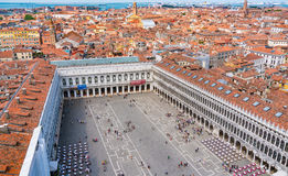 Free Piazza Of San Marco And The Rooftops Of Venice Royalty Free Stock Image - 74986416