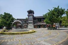 Piazza orientale di Weng Valley del tè del tè OTTOBRE di Shenzhen Meisha Immagine Stock Libera da Diritti