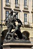 Piazza Palazzo di citta, Torino, Italy Stock Images