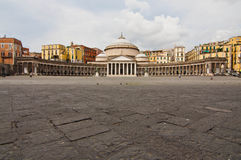 Piazza plebiscito Royalty Free Stock Photography