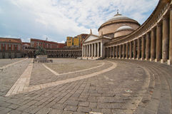 Piazza plebiscito Stock Photo