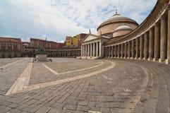 Piazza plebiscito Stock Photo