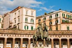 Piazza plebiscito Stock Image