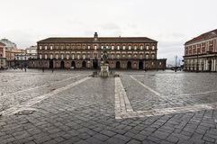 Piazza plebiscito Royalty Free Stock Photography