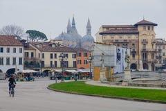 Piazza Prato della Valle, Padua Royalty Free Stock Image