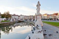 Piazza Prato della Valle w Padova, Włochy Fotografia Royalty Free