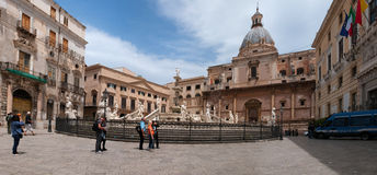 Piazza Pretoria Royalty Free Stock Photo
