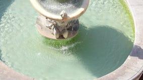 Piazza Pretoria också som är bekant som piazzadellaen Vergogna arkivfilmer