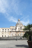 Piazza Pretoria in Palermo Stock Photos