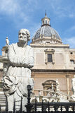 Piazza Pretoria in Palermo Stock Images