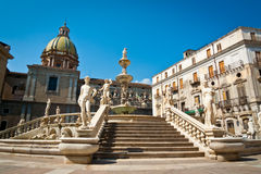 Piazza Pretoria Royalty Free Stock Image