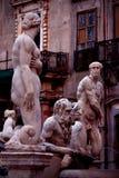 Piazza Pretoria statue Royalty Free Stock Photography