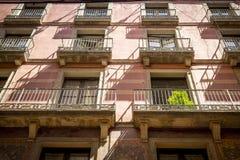 Piazza Reial Barcelona Stockbild