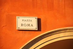 Piazza Roma Stock Photography