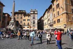 Piazza Rotonda, Roma fotografia stock libera da diritti