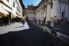 Piazza S Michelle Royalty Free Stock Photo