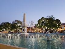 Piazza Salcedo stockbild
