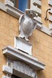 Piazza Salimbeni in Siena Stock Photo