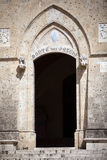 Piazza Salimbeni in Siena Stock Image