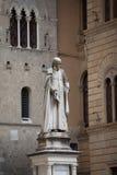 Piazza Salimbeni in Siena, Tuscany. Stock Images