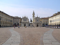 Piazza San Carlo Stock Photography