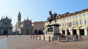 Piazza San Carlo Stock Photos
