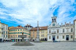 Udine, Italy stock images