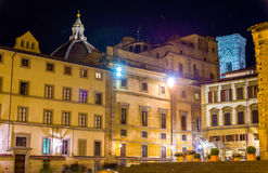 Piazza San Lorenzo in Florence Stock Image
