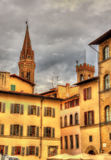 Piazza San Lorenzo in Florence Stock Photography