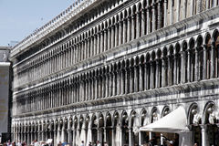 Piazza San Marco. Buildings at Piazza San Marco in venice (Italy Royalty Free Stock Photography
