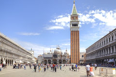 piazza San marco Zdjęcie Stock