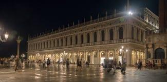 Piazza San Marco bij Nacht royalty-vrije stock foto