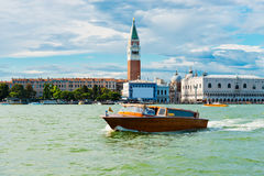Piazza San Marco with Campanile and Doge Palace Royalty Free Stock Image