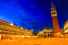 Piazza san marco and campanile Royalty Free Stock Photography