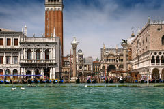 Piazza San Marco and The Doge's Palace Stock Photos