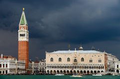 Piazza San Marco and The Doge's Palace Stock Photography