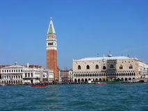 Piazza San Marco and The Doge's Palace in Venice Royalty Free Stock Photo