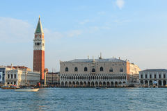 Piazza San Marco and The Doge's Palace, Venice Stock Photography