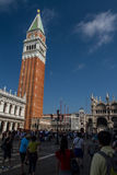 piazza San marco dzwonnicy Obraz Stock